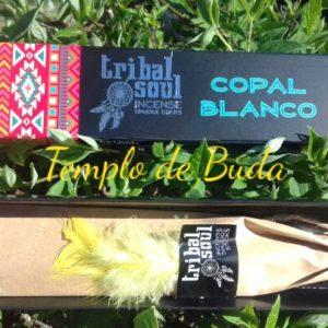 Incenso Tribal Soul Copal Branco