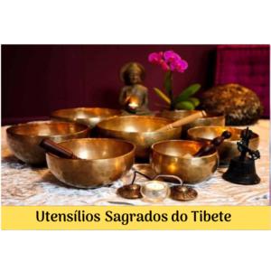 Utensílios Sagrados do Tibete