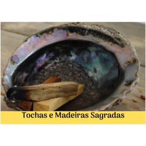 Tochas de Ervas e Madeiras sagradas