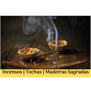 Incensos | Tochas | Madeiras Sagradas