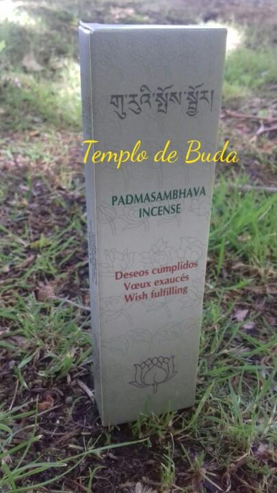 Padmasambhava Desejos cumpridos Incenso Tibetano