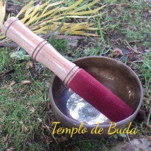 Taça Tibetana Buda 11 cm (Feita á Mão)