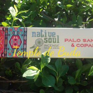 Incenso Indiano Native Soul Pau Santo e Copal