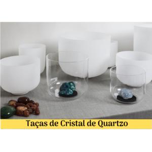 Taças de Cristal Quartzo
