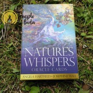 Oráculo Sussuros da Natureza de Angela Hartfield em Inglês