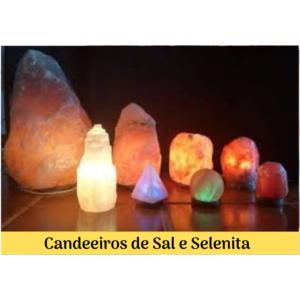 Candeeiros de Sal e Selenita