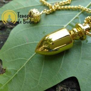 Pêndulo Peão Metal Dourado