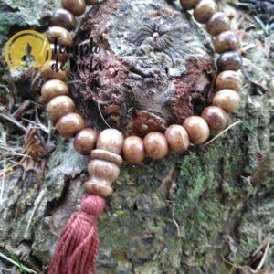 pulseira Antiga Tibetana de Cura Castanho