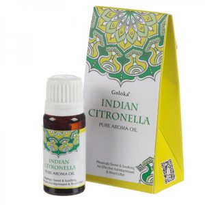 Indian Citronella Goloka Óleo Essencial