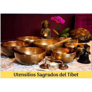 Utensilios Sagrados del Tíbet