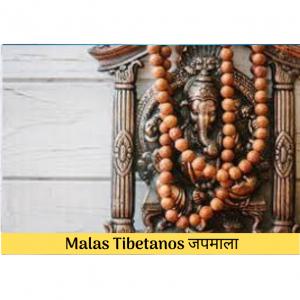 Collares Mala Tibetanos जपमाला