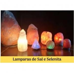 Lamparas de Sal e Selenita