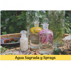 Agua Sagrada y Sprays