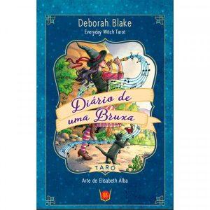 Tarot Diário de Uma Bruxa de Deborah Blake em Português